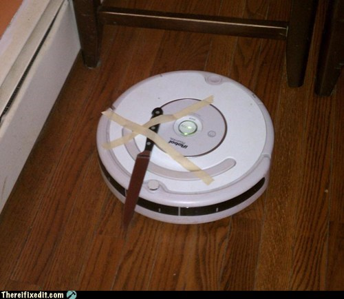 doom g rated knife robot roomba there I fixed it - 5939175168