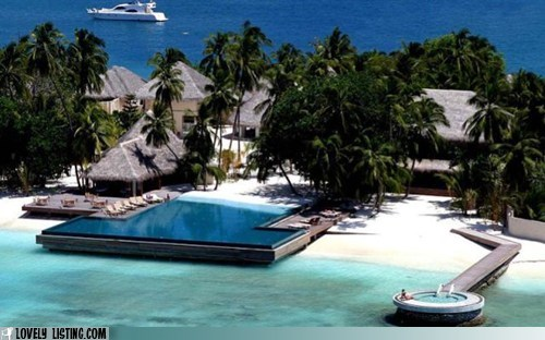 beach hot tub island ocean pool resort Tropical - 5939253504