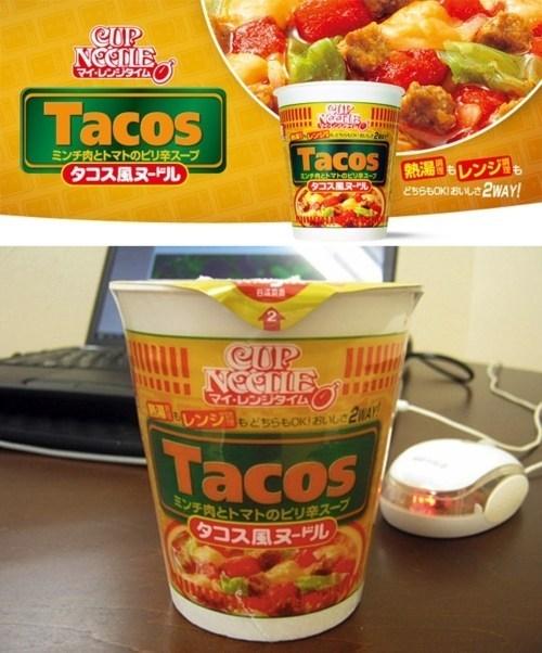cup noodles flavor instant noodles taco