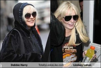 celeb,debbie harry,funny,Hall of Fame,lindsay lohan,TLL