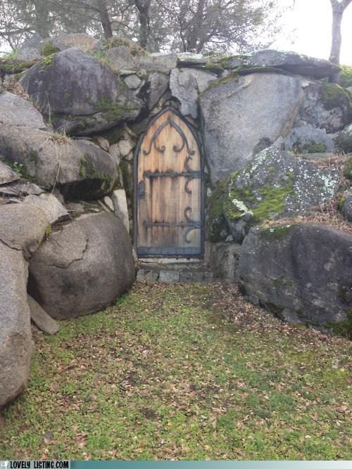 boulder door rock - 5939468800