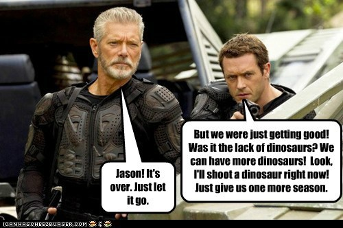 cancelled,dinosaurs,fox,jason-omara,news,News and Reviews,Stephen Lang