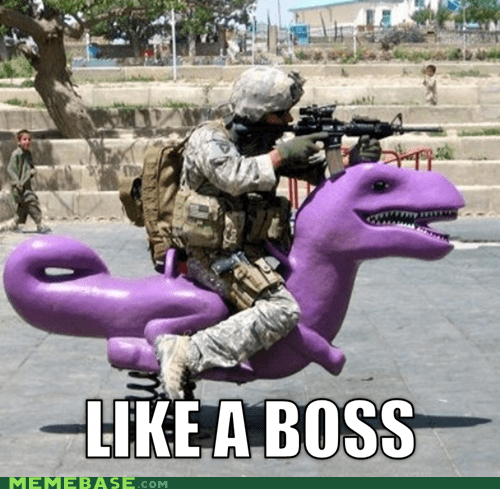 army,digimon,dinosaurs,guns,Like a Boss,purple