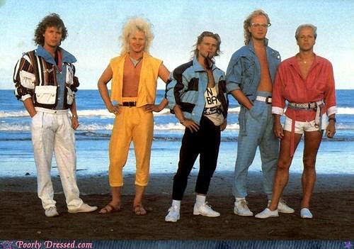 80s Hall of Fame neon shirtless - 5940032768