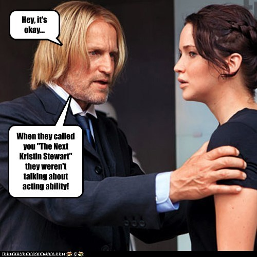 actor celeb funny Hall of Fame jennifer lawrence Movie hunger games woody harrelson - 5940802048