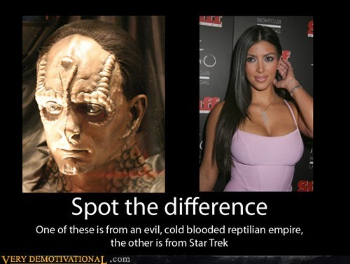 hilarious kardassian kim kardashian Star Trek - 5941095424