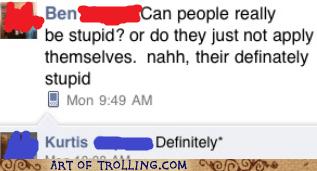 facebook grammar spelling stupid - 5941530368
