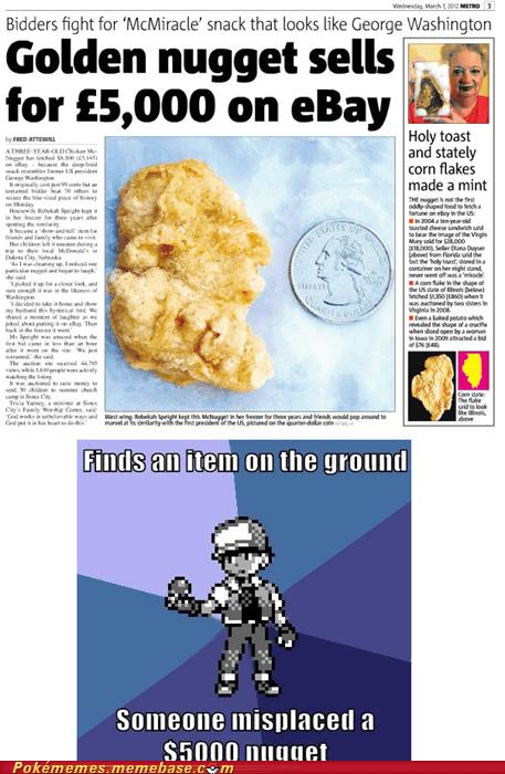 5000 chicken mcnugget dumb ebay gold nugget IRL meme Memes - 5941738752