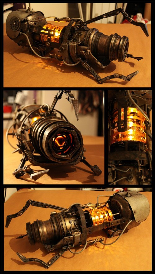 aperture science DIY Portal Steampunk steampunk portal gun video games - 5942622720