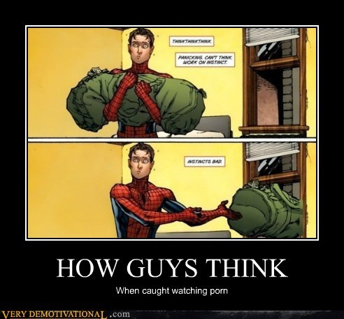 caught,hilarious,pr0n,Spider-Man