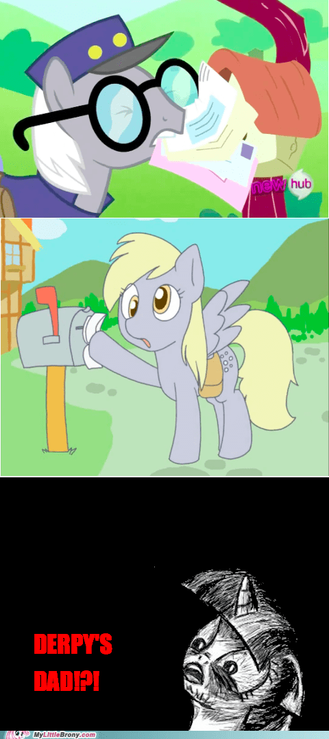 comics derpy hooves family Father mail - 5942769664