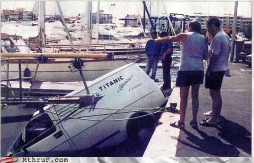 fell service sinking titanic unsinkable van - 5943235584