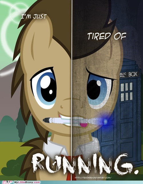 art doctor whooves fan fav ponies two sides - 5943536896