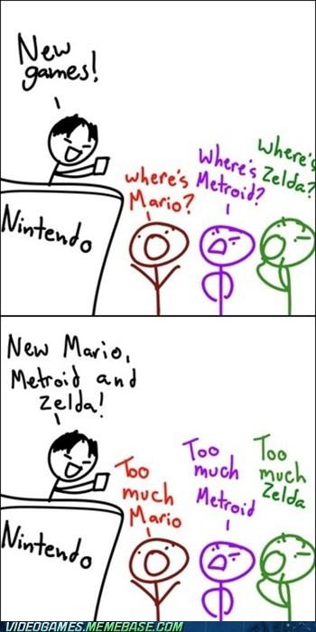 comic fandom mario Metroid nintendo zelda - 5943587584
