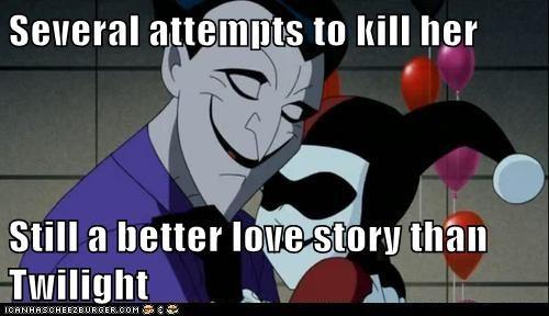 Harley Quinn joker love story Super-Lols wtf - 5943647744