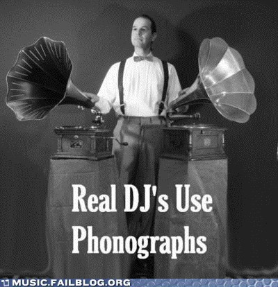 dj phonograph retro Steampunk