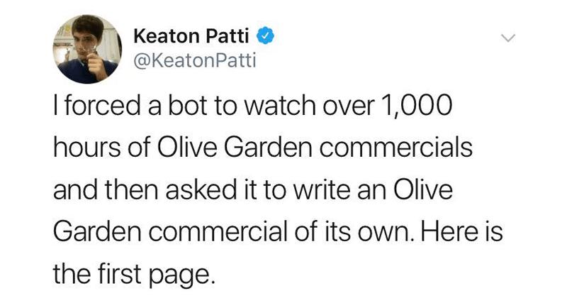 olive garden meme