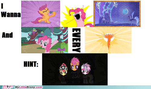 awesome got it hunt meme message my little pony rebus - 5943834624