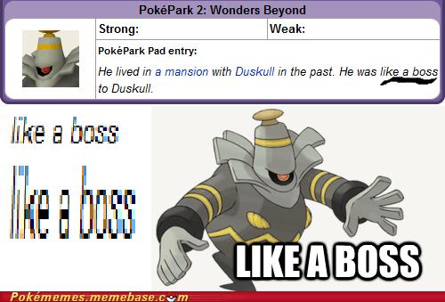 dusclops,duskull,Like a Boss,Memes,pokepark