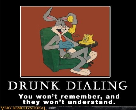 bugs bunny,Drunk Dialing,hilarious,wtf