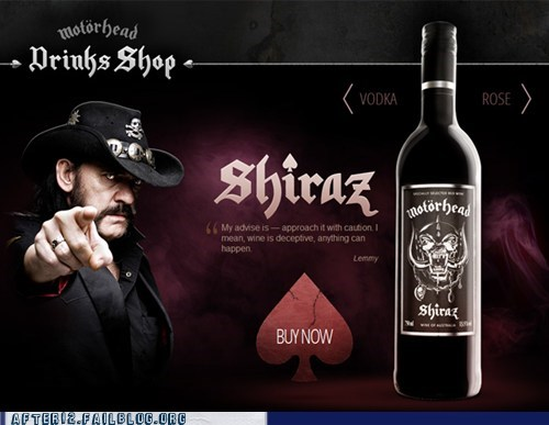 ace of spades lemmy metal Motörhead wine - 5943967488
