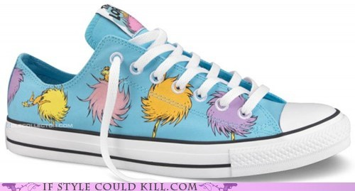 best of the week converse crazy shoes dr seuss the lorax - 5944042496