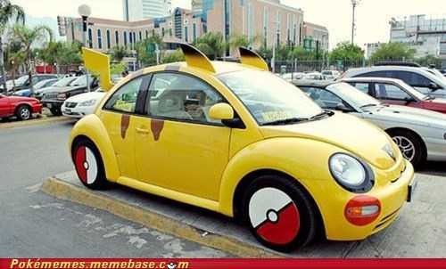 best of week Bling car IRL pikachu pokeball rims - 5944170496