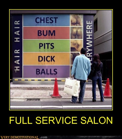 booty chest hairy hilarious men no no tubes salon wtf