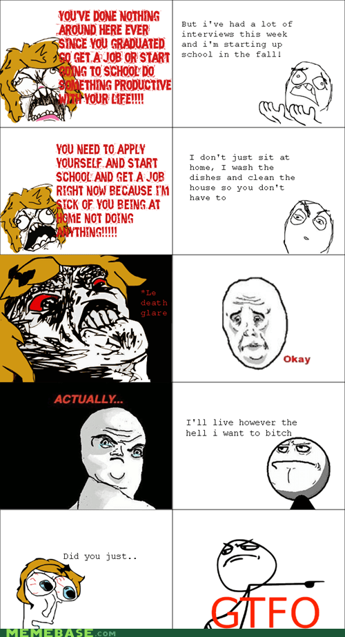 gtfo,Okay,Rage Comics,raisin rage