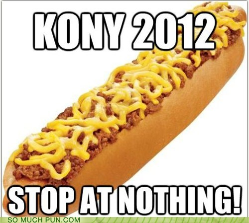 coney dog Coney Island fake and ghey Hall of Fame homophone kony 2012 lolwut - 5944457984