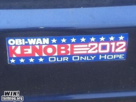bumper sticker g rated Hall of Fame nerdgasm politics star wars win - 5944484352