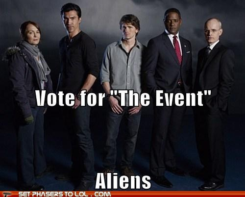 alien,Battle,cancelled,cancelled show,the event,vote