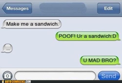 magic magic trick make me a sandwich Misogyny sandwich - 5944542208