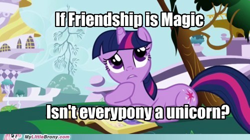 magic meme philososparkle unicorn - 5944566528
