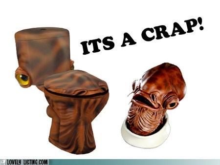 ackbar,cover,crap,star wars,toilet,trap