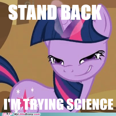 egghead ponies science stand back twilight sparkle - 5944820480