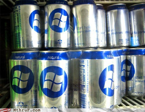 cans,drink,natural,operating system,OS,windows