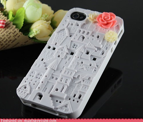 case castle cover iphone rose - 5945637632