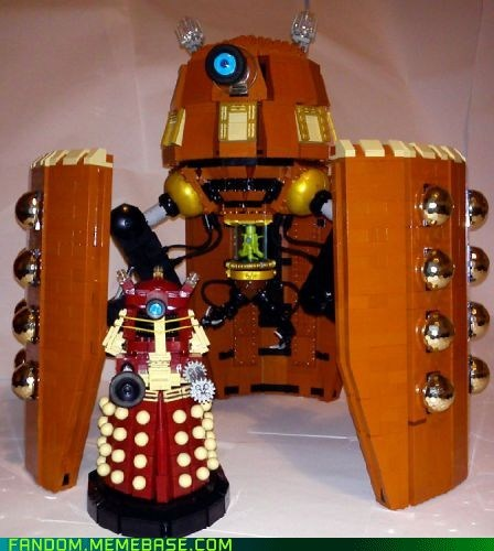 dalek,doctor who,Fan Art,legos,scifi