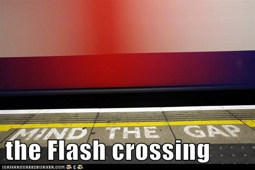 comics London political pictures Subway the flash underground - 5946424832
