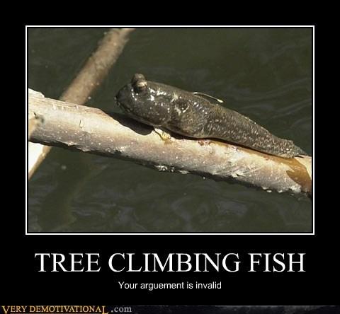 climb hilarious lungfish tree wtf - 5946839296