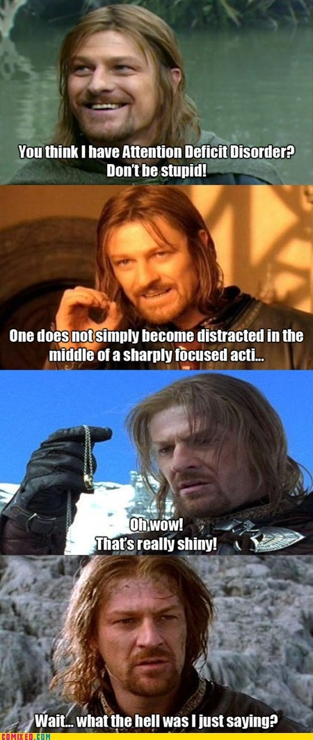 add From the Movies Lord of the Rings one does not simply walk shiny