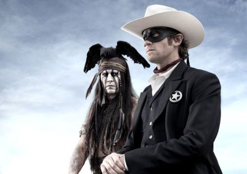 armie hammer,first look,Johnny Depp,The Lone Ranger