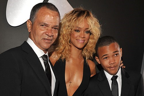 celeb,chris brown,family,interview,rihanna,ronald fenty