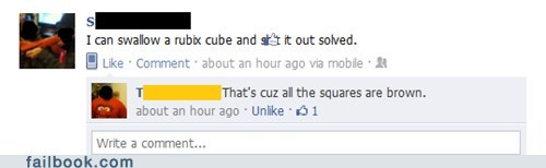 joke,poop,rubix cube