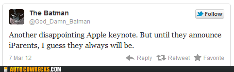 apple keynote,the batman,twitter
