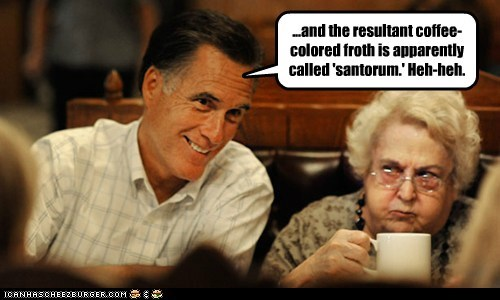 Mitt Romney,political pictures,Republicans,Rick Santorum