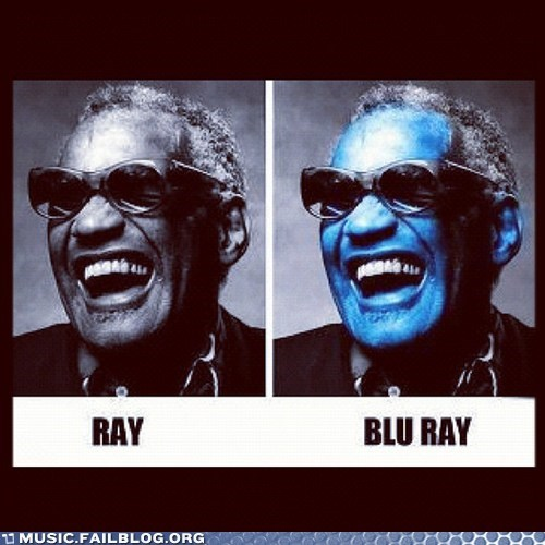 blu ray pun ray ray charles