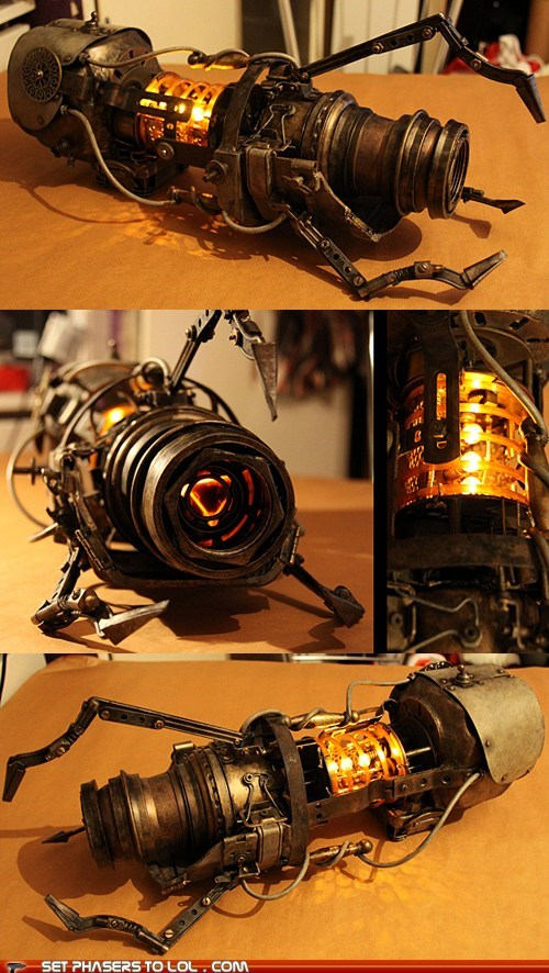 art chell cosplay model Portal portal gun Steampunk - 5948941056