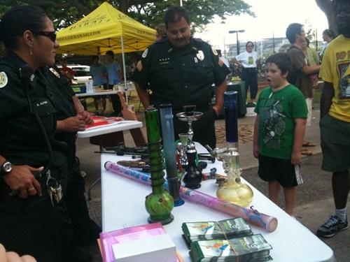 bong marijuana police weed